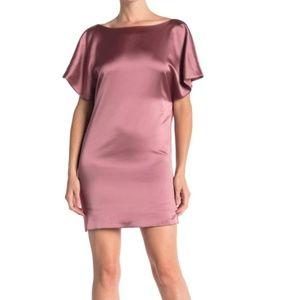 MARINA Made In Usa Drape Back Satin-Size